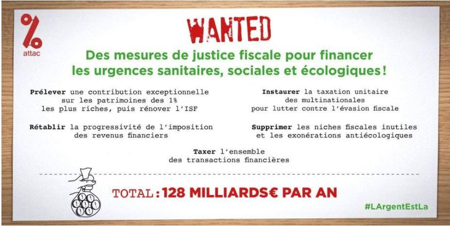 Appel justice fiscale