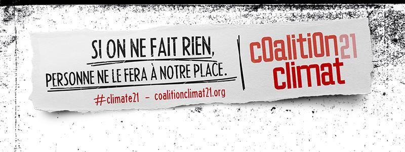 Banniere coalition climat