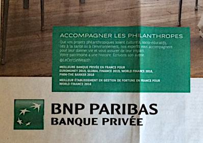 Affiche BNP
