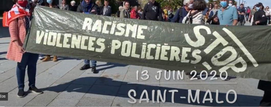 Contre le racisme et les violences policieres 1