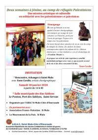 Invitation palestine