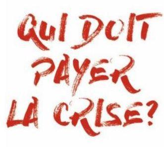 Qui doit payer la crise